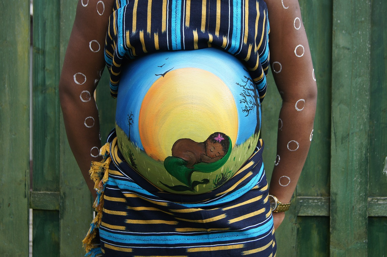 belly-painting-409794_1280